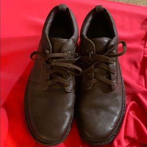 PROPET M4078 VILLAGERS BROWN LEATHER SZ12